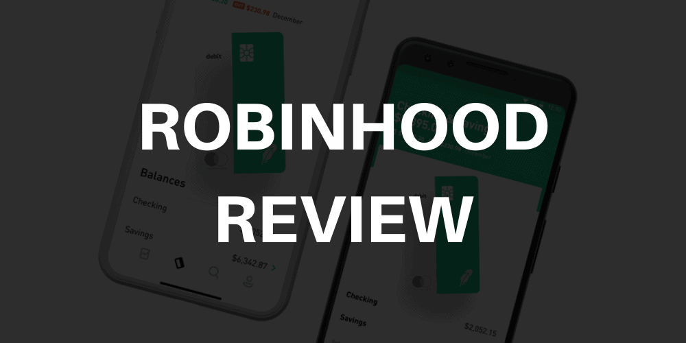 Robinhood Commission-Free Investing Thickness
