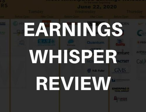 Earnings Whispers Review